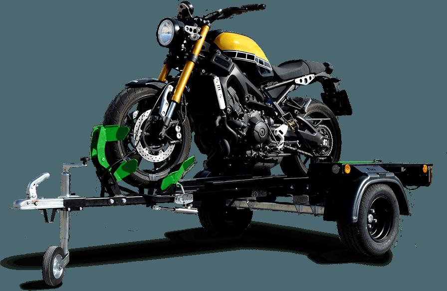 Littleway: Remolque para motos plegable